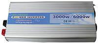 Инвертор напряжения 24-220 Вольт 3000Вт NV-P чистая синусоида