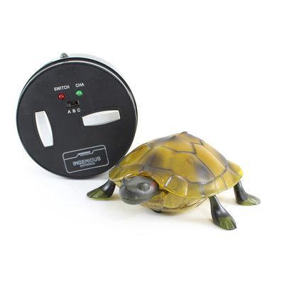 Интерактивная игрушка Черепаха - пульт ДУ, световые эффекты