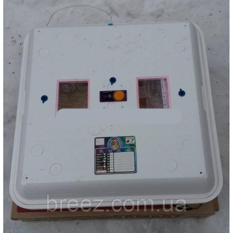 Инкубатор для яиц Рябушка ТЭН на 150 яиц с механическим переворотом, аналоговый терморегулятор