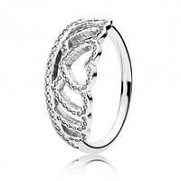 Кольцо Тиара из сердец