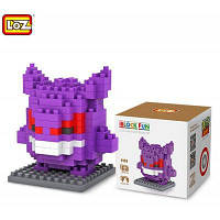LOZ 150шт M-9138 Покемон Gengar строительный блок развивающая игрушка для способности к сотрудничеству Фиолетовый