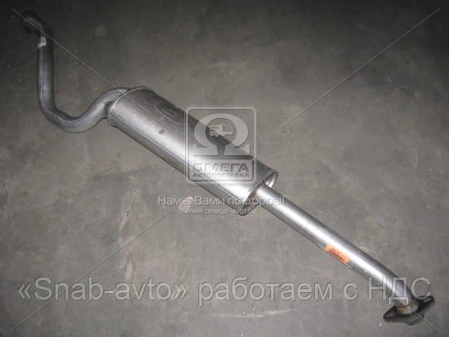 Глушитель задний MITSUBISHI PAJERO (производство Polmostrow) (арт. 14.89), AEHZX