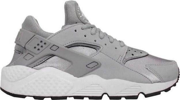 45cf2323 Nike Air Huarache Silver Grey   кроссовки мужские и женские; летние; серые