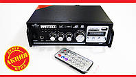 Усилитель звука AV-306B USB+SD+AUX+Bluetooth+Караоке, фото 1