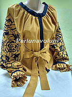 Блуза женская с вышивкой БЖ 100118 вышиванка, вышитая блузка, вишита блузка, вишиванка