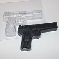 Пластиковый молд для шоколада Пистолет