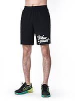 Мужские шорты спортивные черные TYPE BLK Urban Planet (мужские шорты, спортивные шорты, шорти чоловічі)