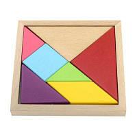 Maikou MK518 обучающая игрушка деревянный пазл головоломка подарок на день рождения Цветной