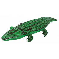 WINMAX WMB07620 надувная лодка в виде крокодила ПВХ Зелёный
