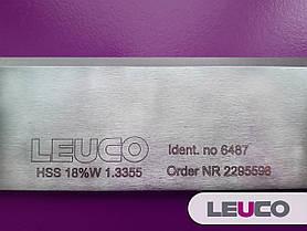 410х35x3 HSS 18% Строгальные (фуговальные) ножи Leuco для фуганков и рейсмусов, фото 2