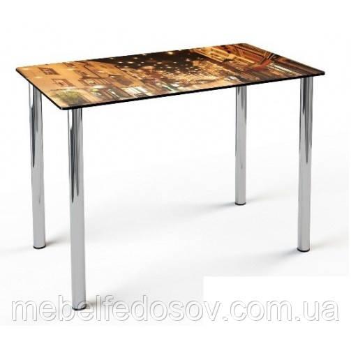стол со стеклянной столешницей фотопечать