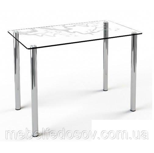 стол со стеклянной столешницей художественное матирование