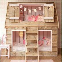 Двухэтажная кровать-чердак