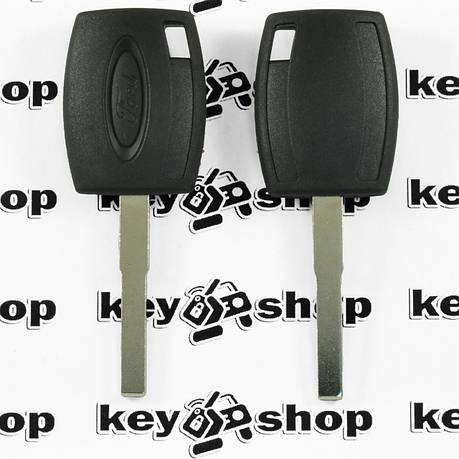 Корпус авто ключа под чип для FORD (Форд), лезвие HU101, фото 2