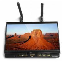 ГХ-LCD5812 с fpv 7-дюймовый 40CH fpv монитор Встроенный 5.8 ГГц приемник ЖК-дисплей 1024 х 600 экран Чёрный