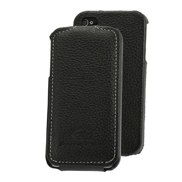 Кожаный чехол для iPhone 4S Perfektum Flip