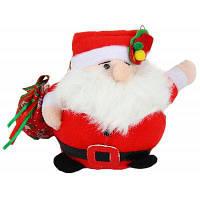 Симпатичные Санта-Клаус плюшевые игрушки чучела куклы Рождественский подарок для детей-7 дюймов Красный