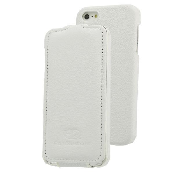 Кожаный чехол для iPhone 5 Perfektum Flip