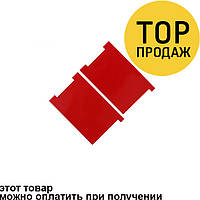 Sticker Apple iPhone 5G/5S/5C RED for LCD Back Side (Красная наклейка на дисплей)