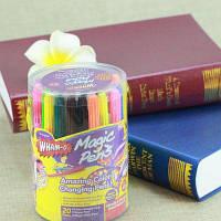 20шт дети Акварель Волшебная ручка Брызга чертежа Обучающие игрушки для малыша Разноцветный