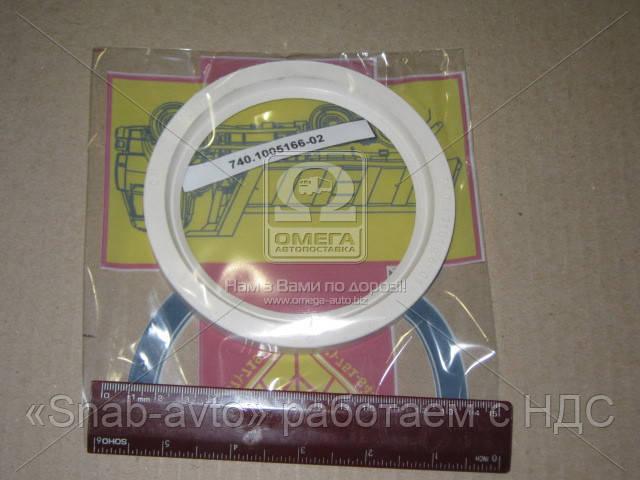 Сальник вала коленчатого КАМАЗ переднего (166) (силикон) (производство Украина) (арт. 740.1318166-02)