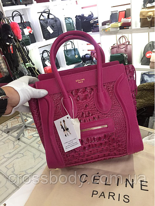 Женская сумочка саквояж Celine mini в стиле