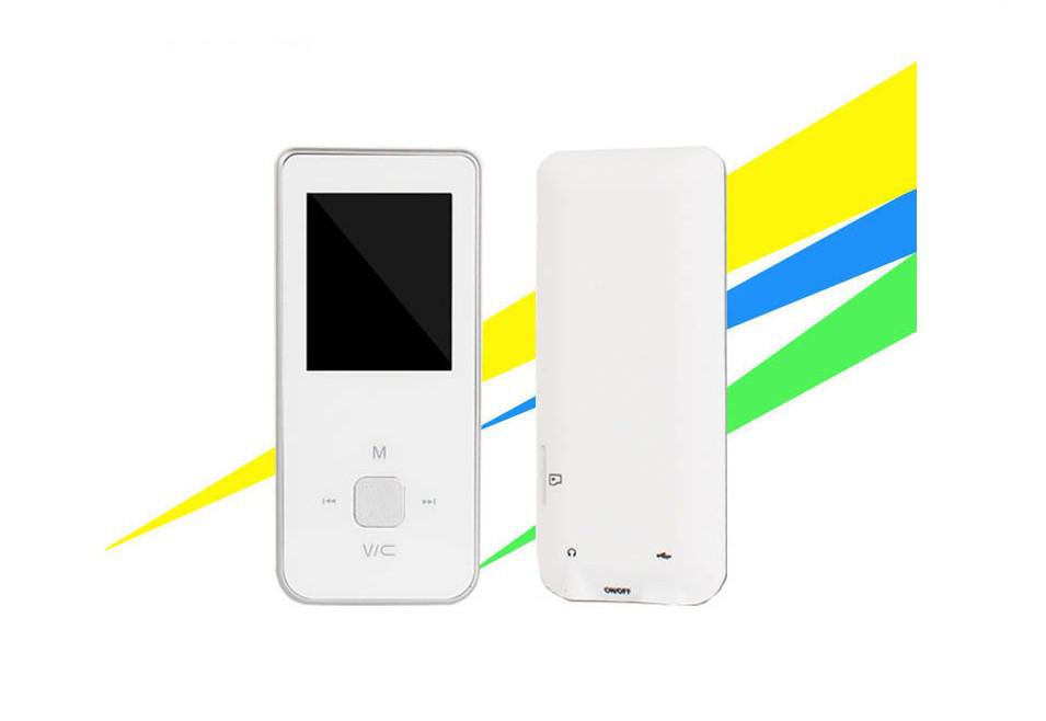 MP4-плеєр ONN Q9 білий Підтримка fm Радіо 8гб пам'яті