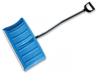 Лопата-плуг для снега с алюминиевым профилем и металлическим черенком KT-CXG811-D