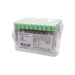 Пробирки гепарин лития + гель, 3мл, со светло-зеленой крышкой, BD Vacutainer