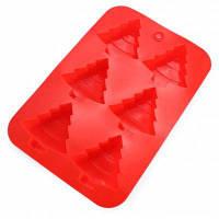 Творческий Рождественская Елка Силиконовые Формы Торт Красный