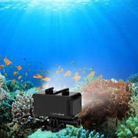 Lightdow 30M Водонепроницаемый подводный дайвинг Светодиодный видеоролик для героя GoPro 1/2/3/3+/ 4 SJCAM Sj4000 Sj6000 Action Camera Black LGS-15641