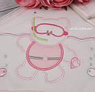 "Махровый набор для ребенка ""Водолаз"" розового цвета, фото 3"