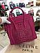 Женская сумочка саквояж Celine mini в стиле, фото 3