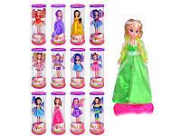 Кукла WX 800-6-801-4-802-3. 13 видов, муз, свет, вращается на подставке, в колбе