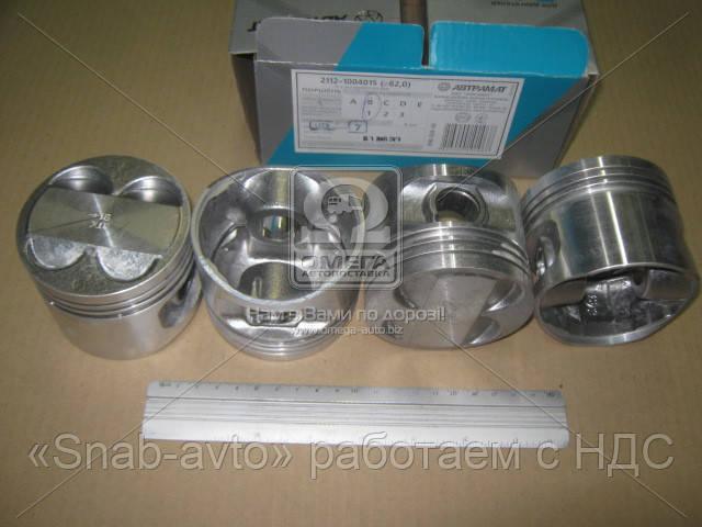 Поршень цилиндра ВАЗ 2112 d=82,0 гр.B М/К (производство Автрамат) (арт. 2112-1004015), ACHZX