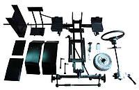 Комплект для переоборудования мотоблока КИТ набор №2(базовый+задний подьемный механизм, 4 шпильки) Полтава