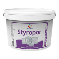 Клей для виробів із полістиролу Eskaro Styropor