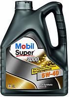 Масло моторное MOBIL SUPER 3000 5W-40 API SN/SM (4л) синтетика, 411056