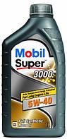 Масло моторное MOBIL SUPER 3000 5W-40 API SN/SM (1л), синтетика, 411026