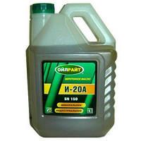 Масло индустриальное OIL RIGHT И-20А (5л) 4107275