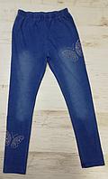 Лосины под джинс для девочек оптом, F&D, 4-12 рр., арт.9670, фото 1