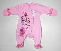 Одежда для новорожденных в роддом р.56