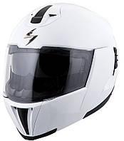 "Шлем Scorpion EXO-910 AIR Solid White ""M"", арт.91-100-05, арт. 91-100-05"