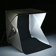 Лайтрум, Лайткуб, Фотобокс (Lightroom MK26) для предметной съемки (с LED подсветкой), фото 2