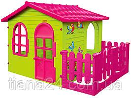 Большой домик Mochtoys с верандой