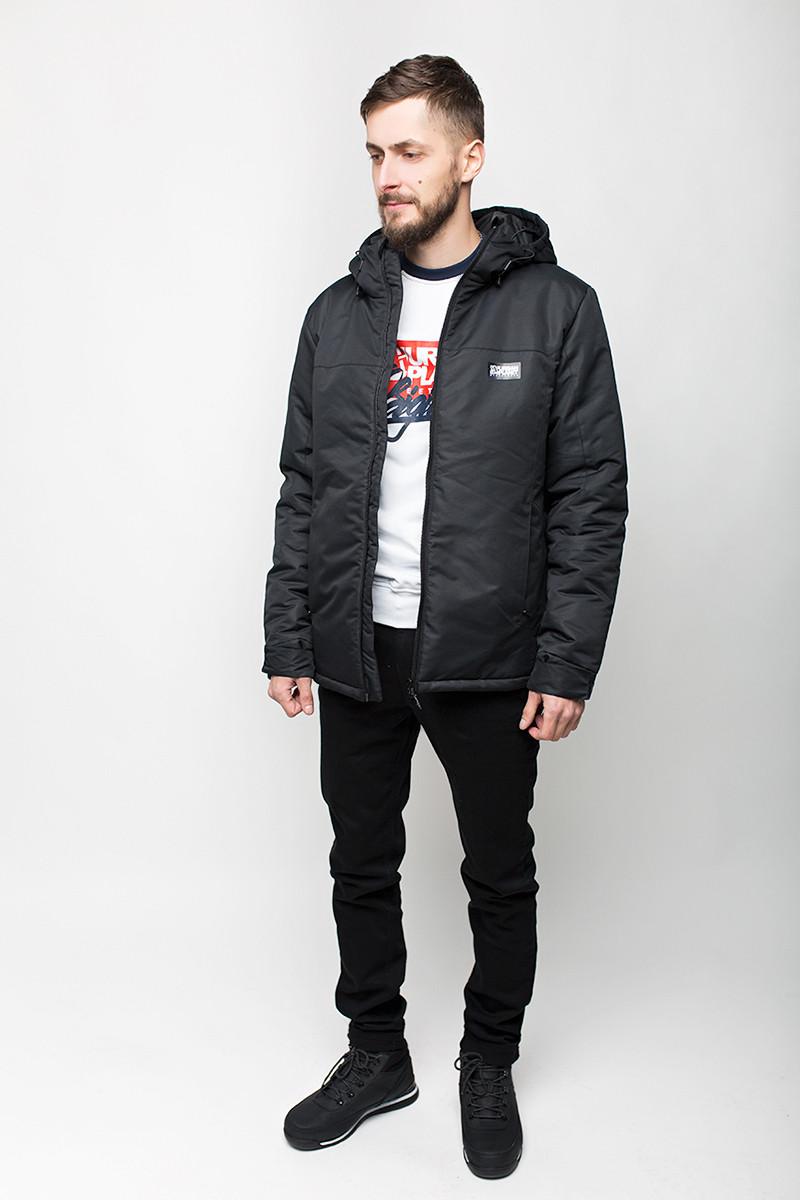 621411094a8 Куртка мужская зимняя A4 BLK Urban Planet черная (мужская куртка ...