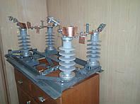 Разъединитель РЛНДз-10IV/400 (2-х полюс.) с полимерными изоляторами