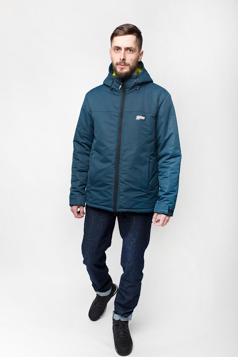 Куртка мужская зимняя A4 NVY Urban Planet синяя (мужская куртка, парка