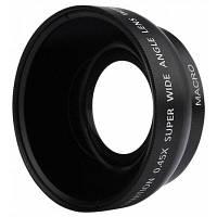 0.45 х 49 мм широкоугольный макро объектив камеры 15558
