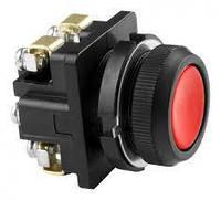 Кнопка КЕ 011/2 красная, черная